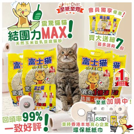 PetChill瘋狂喵-我愛好貓砂-最愛瘋狂寵物用品速遞-貓砂-貓糧-貓零食-貓狗糧至抵保證-震驚貓貓富士貓常規 Monica